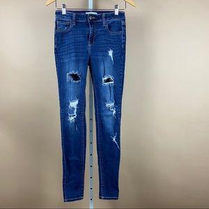 Cello Juniors Distressed Skinny Jeans